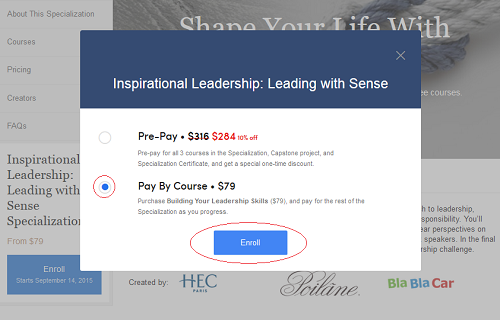 coursera financial aid application step 1 image