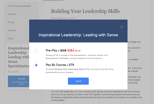 coursera financial aid application step image